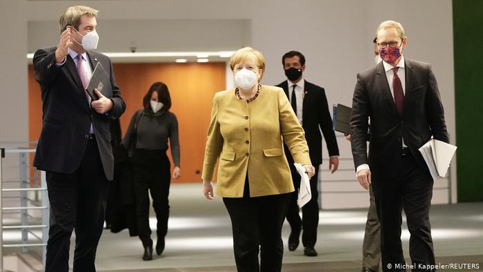 La Germania rafforza le misure anti COVID / Estende l'isolamento fino al 31 gennaio